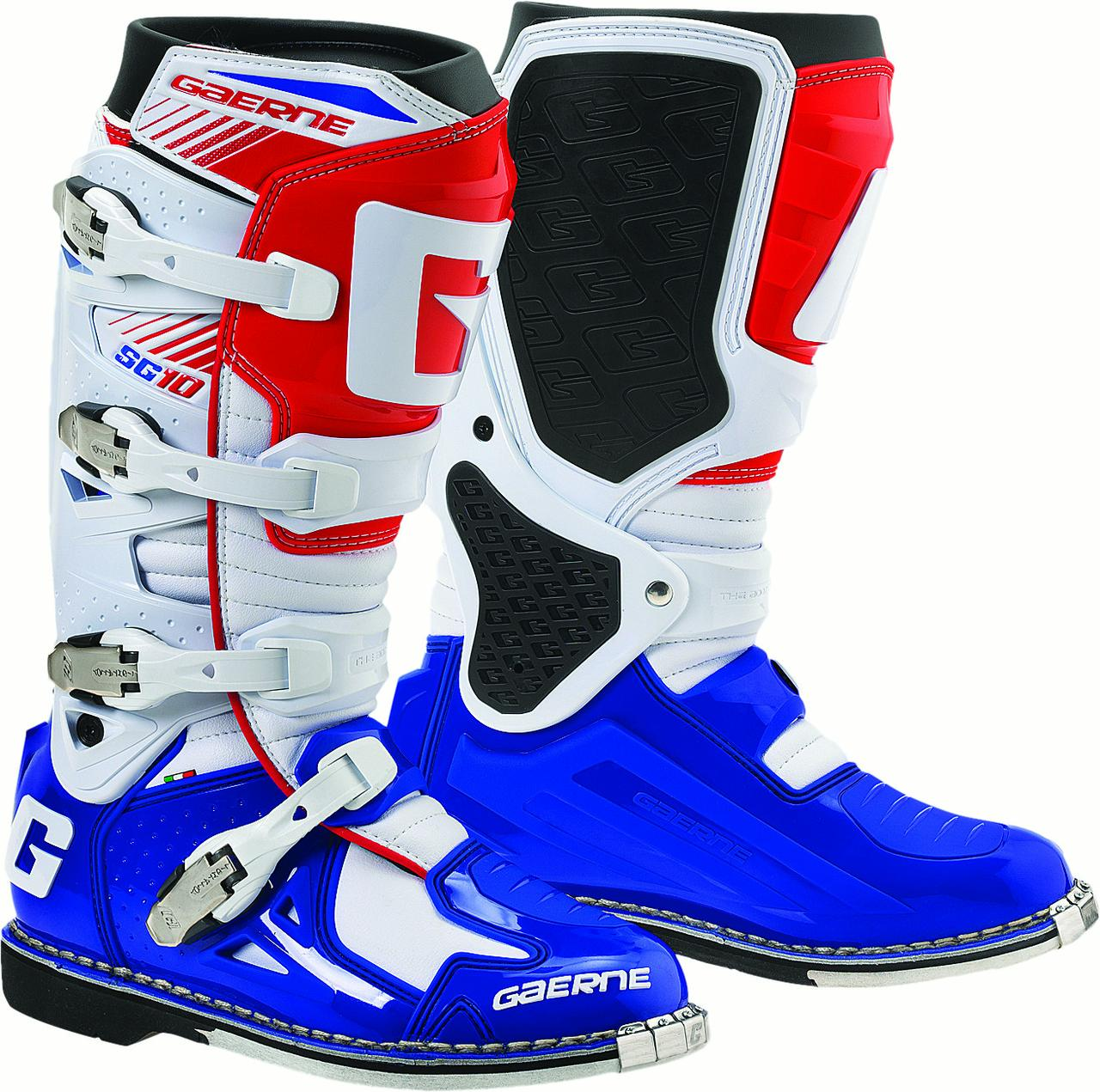 GAERNE SG-10 BOOTS RED/WHITE/BLUE 11