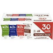Kettle Brand Potato Chips Variety Pack (Sea Salt & Vinegar, Krinkle Salt & Pepper, Backyard BBQ, Jalapeno), 1.5 Oz, 30 Ct