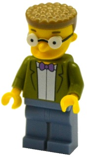 LEGO The Simpsons Series 2 Waylon Smithers Minifigure with Accessories