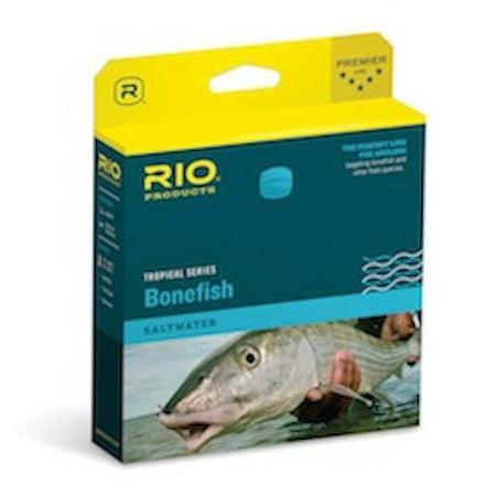 Rio Bonefish Quickshooter Line - WF7F Aqua Blue/Sand - Fly Fishing