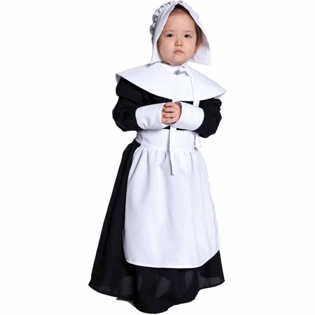 Pilgrim Costume Girl (Pilgrim Girl Child Halloween)