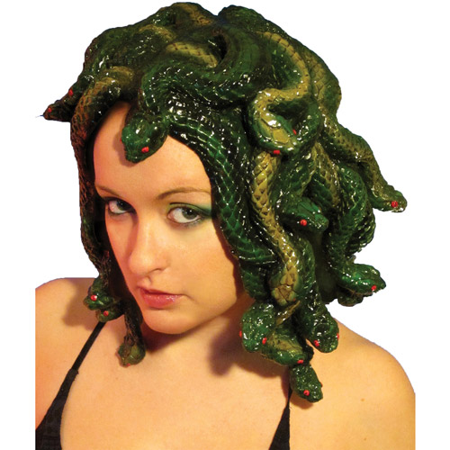 Medusa Latex Wig Adult Halloween Accessory