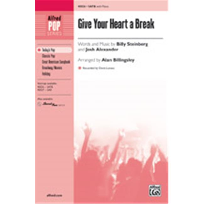 Alfred 00-40028 GIVE YOUR HEART A BREAK-STRX CD by Alfred