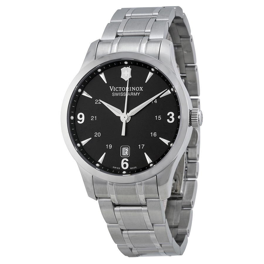 Victorinox Swiss Army Alliance Black Dial Mens Watch 241473