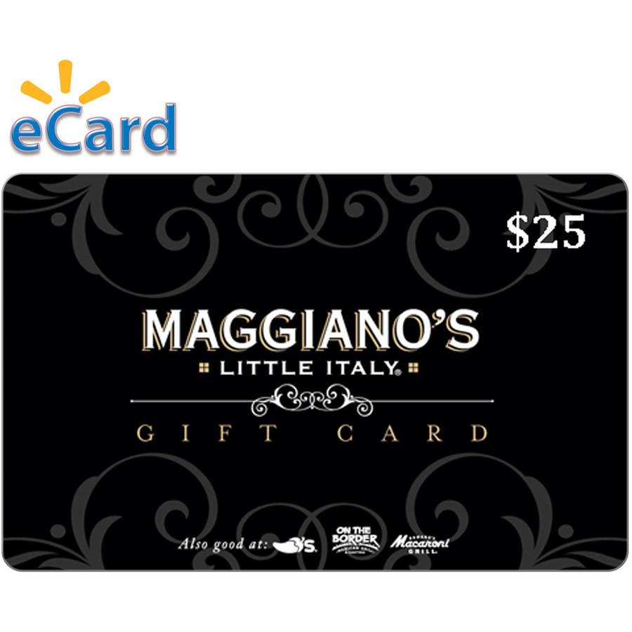 Maggiano's $25 Card (Email Delivery)
