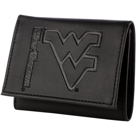 West Virginia Mountaineers Hybrid Tri-Fold Wallet - Black - No Size ()