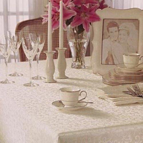 Lenox Opal Innocence 60 Quot X 120 Quot Oblong Tablecloth Gold