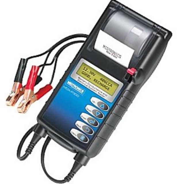 Midtronics MDX-P300 CHROME Batt_Elect_and_Charging_Testers