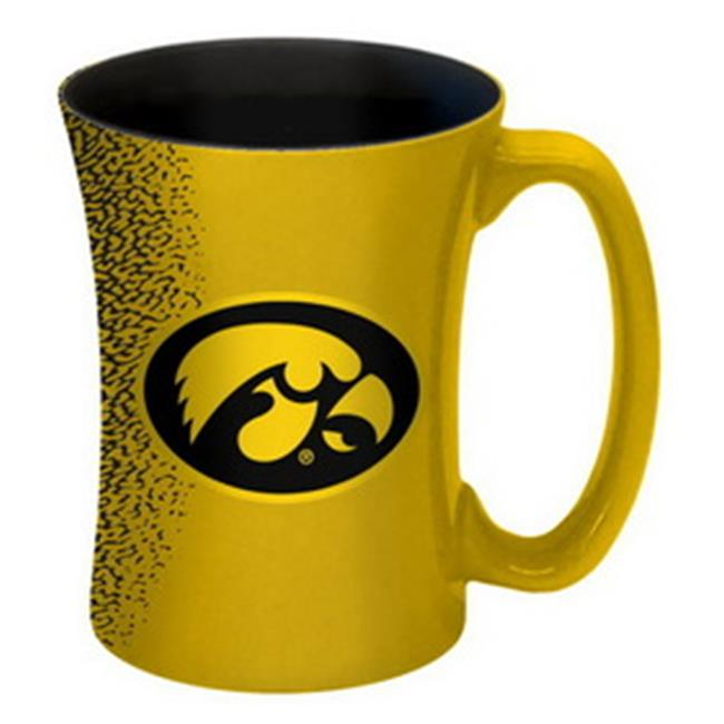 Iowa Hawkeyes Coffee Mug - 14 oz Mocha