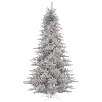 product image vickerman 3 silver tinsel fir artificial christmas tree unlit