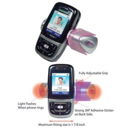 CELLET PINK FLASHING CAR MOUNT PHONE HOLDER for SMALL CELL PHONES CELLET PINK FLASHING CAR MOUNT PHONE HOLDER for SMALL CELL PHONES