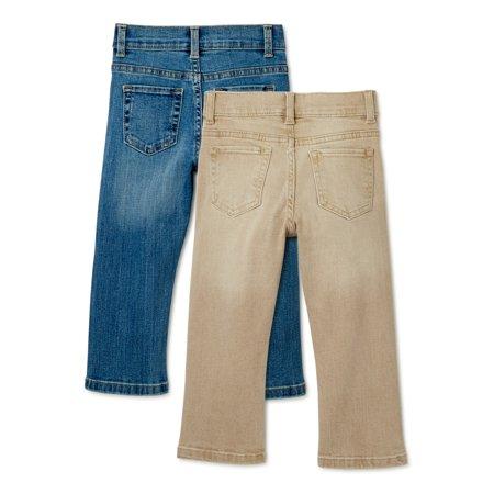 Wonder Nation Baby Boy & Toddler Boy Core Denim Jeans, 12M-5T