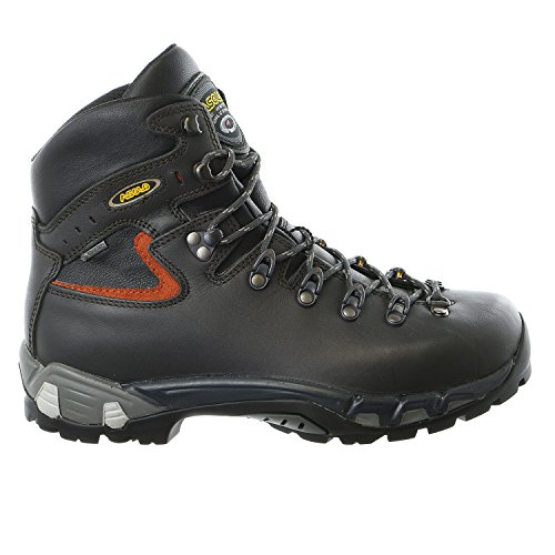 0M2200_450 Asolo Men's Power Matic Hiking Boots Dark Graphite by Asolo Hiking Boots