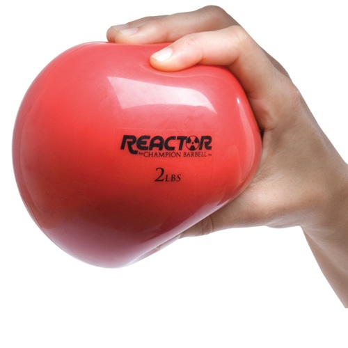Medicine Ball by Champion, Red - 2 Lb
