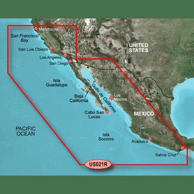 - Garmin 010C072220 g2 HD SD HXUS021R-California-Mexico