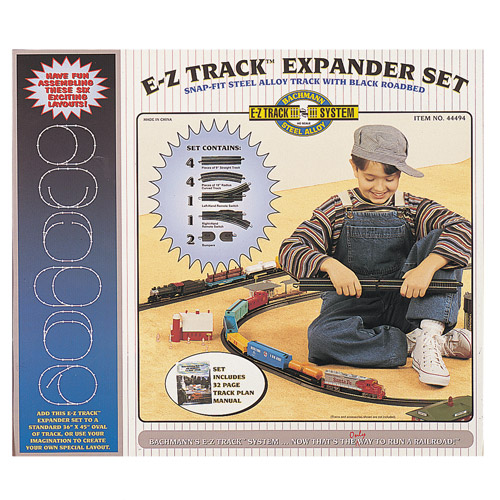Bachmann Steel Alloy E-Z Track Layout Expander Set, HO Scale