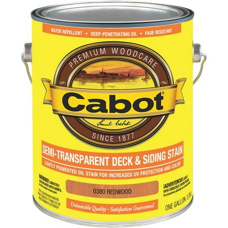 Semi Transparent Oil Deck - Cabot Semi-Transparent Deck & Siding Exterior Stain