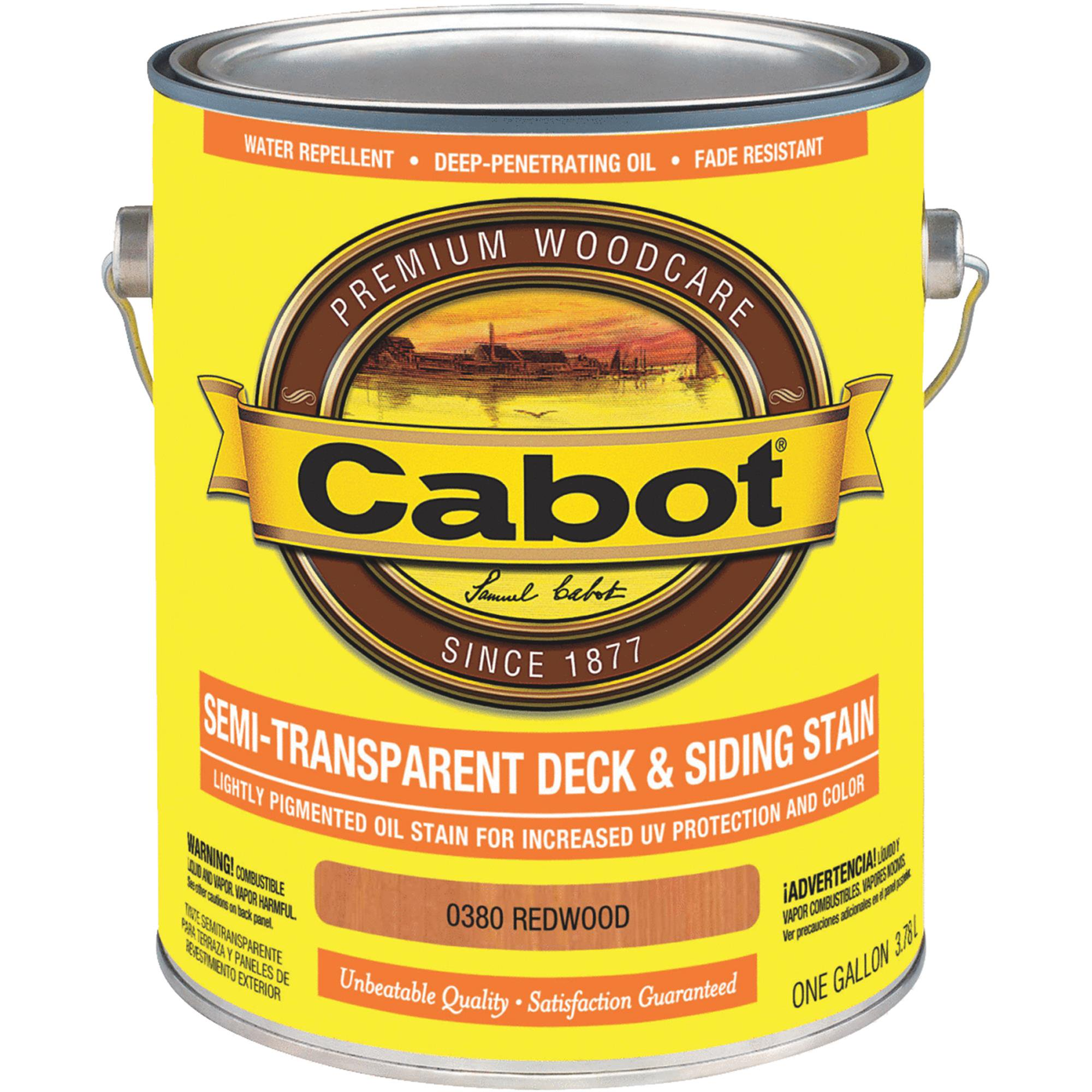 Cabot Semi-Transparent Deck & Siding Exterior Stain