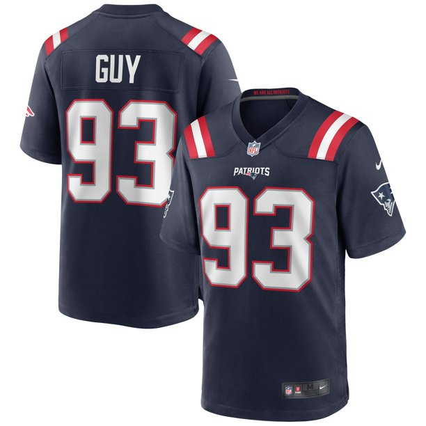 Lawrence Guy New England Patriots Nike Game Jersey - Navy