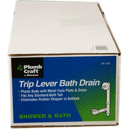 "Waxman Consumer Group 0413600 1.5"" Tub Drain Overflow"