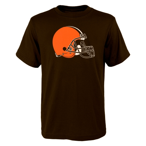 Cleveland Browns Youth Team Logo T-Shirt - Brown