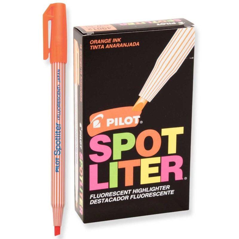 Pilot SW-SL Spotliter Highlighter, Fluor.Orange (PIL 49012) - 12/pk