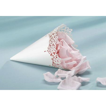 Paper Cone 12Pc Pearl Finish 9.5X6 (Paper Cones)