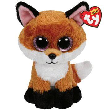 Ty Beanie Boos Buddies Slick the Fox - Medium by Ty (Beanie Boo Medium Fox)