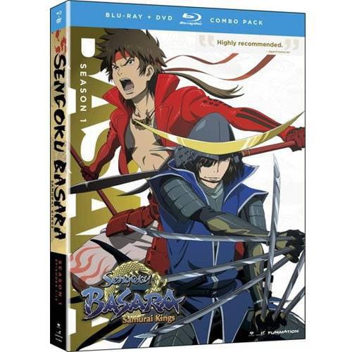 Sengoku Basara: Samurai Kings - Complete Series Box Set (Blu-ray + DVD) (Widescreen)