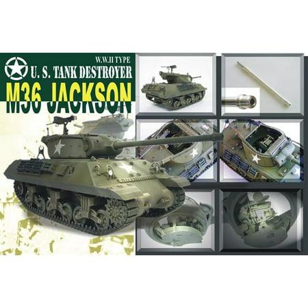 1/35 US M36 Tank Destroyer w/90mm Gun Motor Carriage