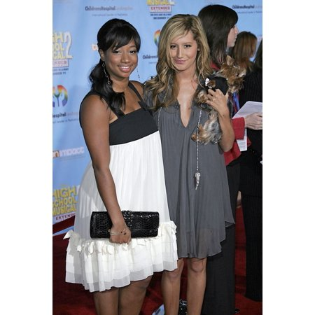 Monique Coleman Ashley Tisdale At Arrivals For Dvd Premiere Of High School Musical 2 Benefitting Los Angeles ChildrenS Hospital Teen Impact Program El Capitain Theatre Los Angeles Ca November 19 2007 (Ashley Tisdale Halloween)