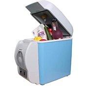 12V 7.5L Mini Portable Car Refrigerator, Freezer MultiFunction DualUse Cooler Warmer Thermoelectric Electric Fridge Compressor