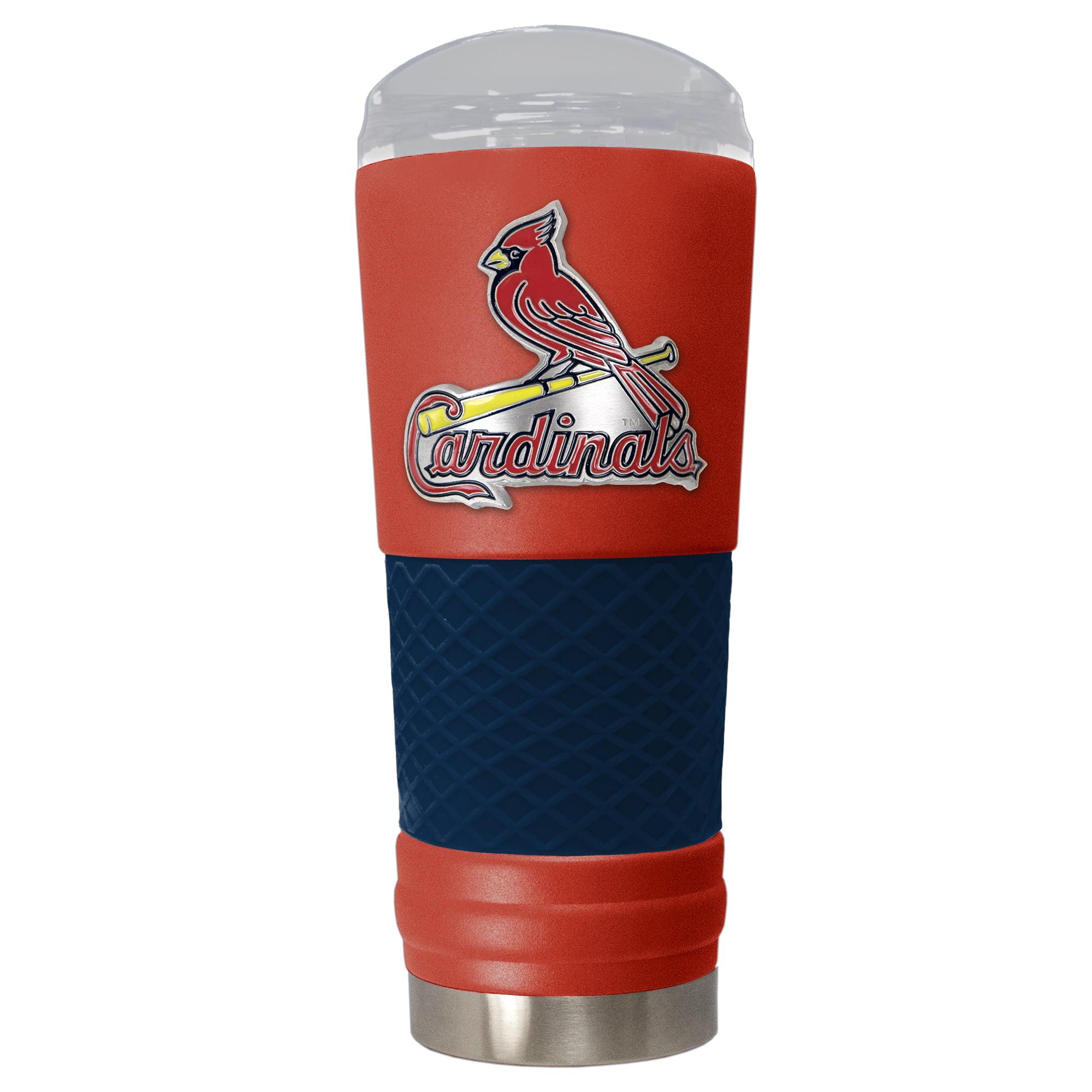 St. Louis Cardinals 24oz. Powder Coated Draft Travel Mug - Red - No Size