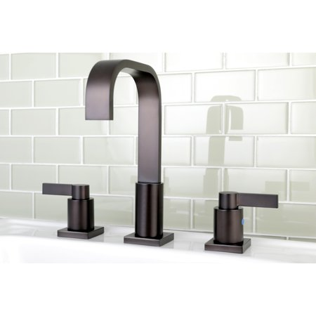 Kingston Brass High Arch Oil Rubbed Bronze Widespread Bathroom Faucet - Walmart.com