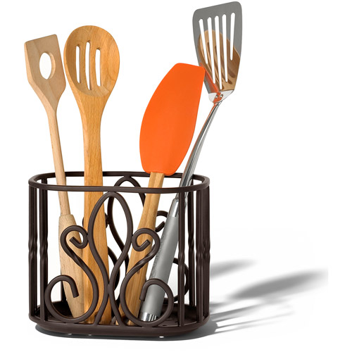 Spectrum Patrice Utensil Holder, Bronze