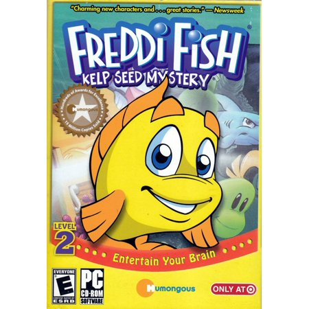 Freddi Fish: Kelp Seed Mystery PC Game - Children use logical thinking & reasoning skills - 20+ hours of gameplay (Halloween Bowling Computer Game)