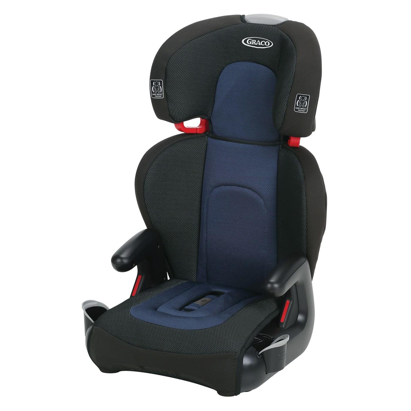 Graco TurboBooster TakeAlong Highback Booster Car Seat, Lark