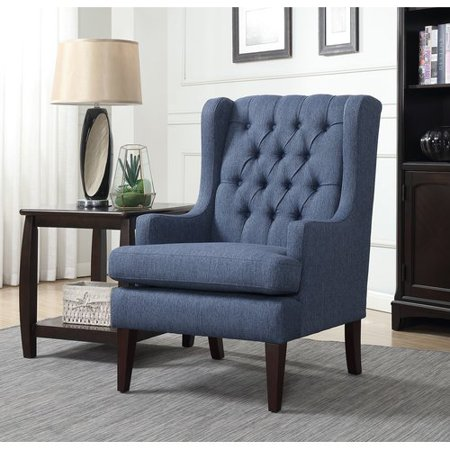 Alcott Hill Argenta On Tufted Wingback Chair
