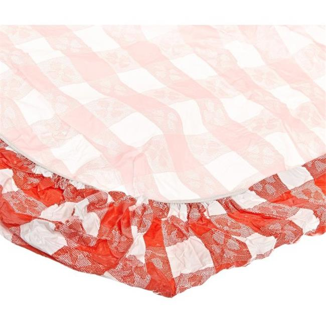 Kwik-Covers 1896-RW 18 inch X 96 inch KWIK-COVER- RED GIN...