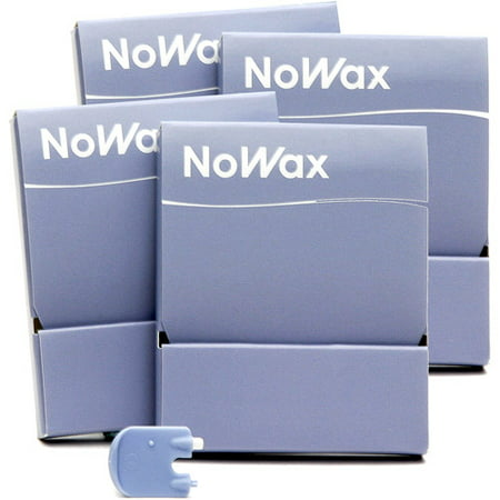 4 pack of No-Wax Hearing Aid Replacement Filters
