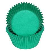 Green - Mini Baking Cupcake Liners - 100 Count