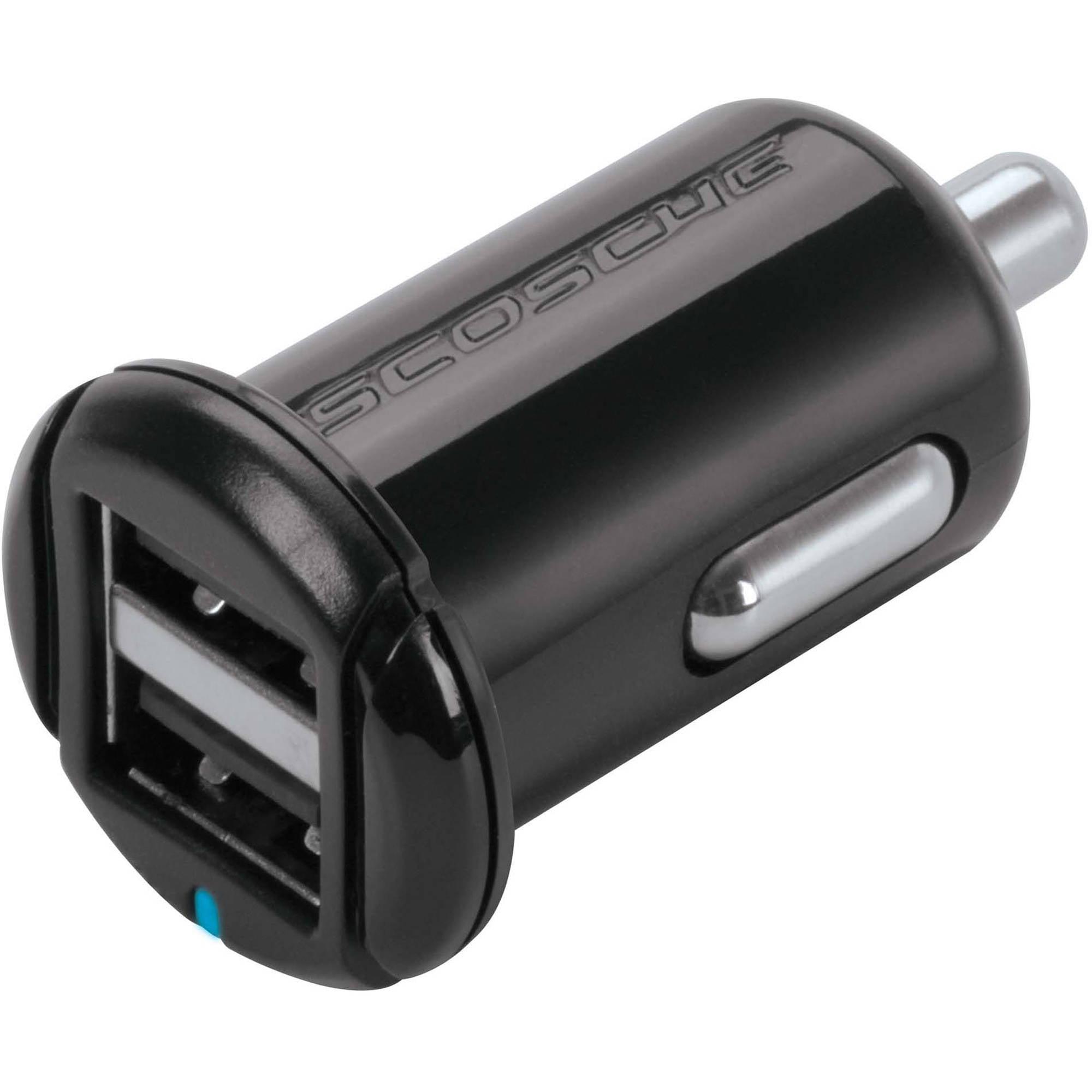 Scosche USBC102M 10W 2-Port miniUSB Charger