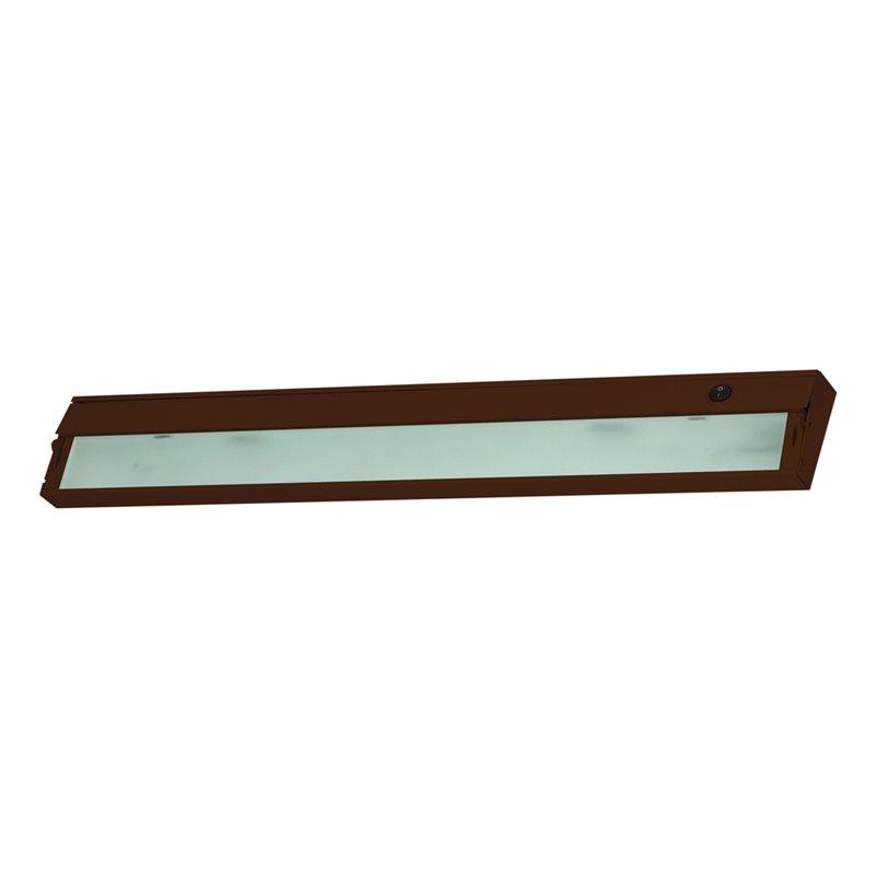 Alico Zeeline 4 Light Xenon Under Cabinet Lighting in Bronze