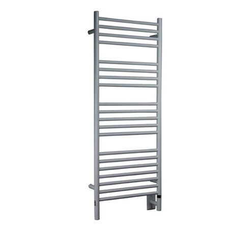 Amba Jeeves Wall Mount Electric D Straight Towel (Pivoting Wall Mounted Towel Warmer)