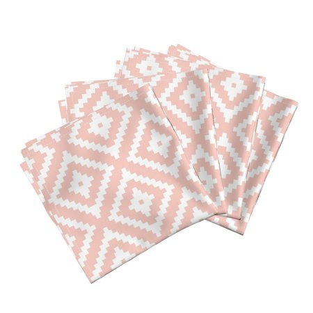 Aztec Quilting Home Decor Little Cotton Dinner Napkins by Roostery Set of