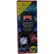 Bicycle Clay Poker Chip Set, 100-Count by US Playing Card Company