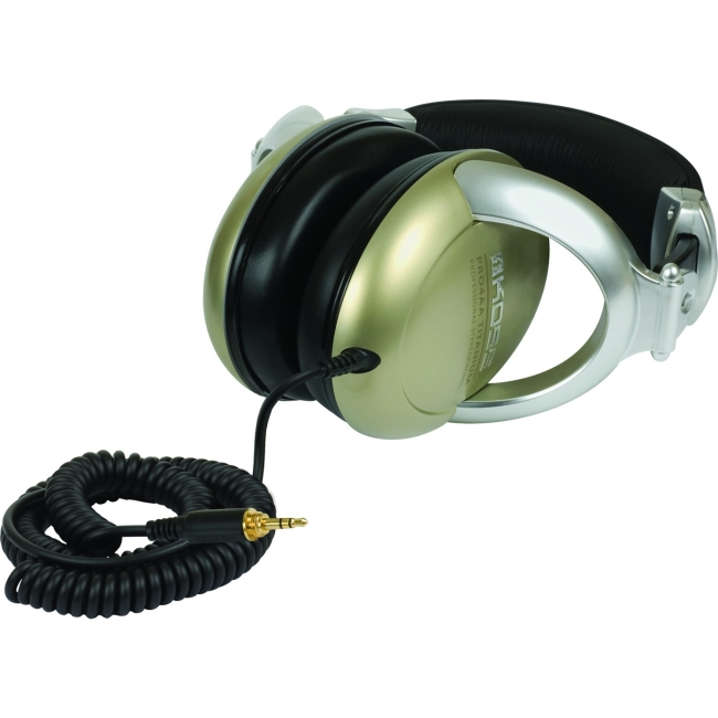 Koss PRO4AAT Full Size Professional Headphone Wired Connectivity Stereo Over-the-head Titanium by Koss
