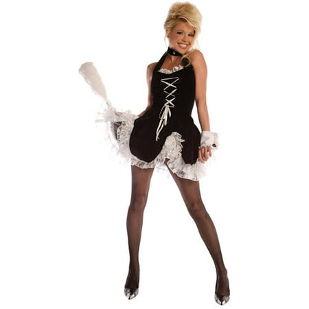 Maid to Tease Adult Halloween Costume - Deadpool Maid Costume