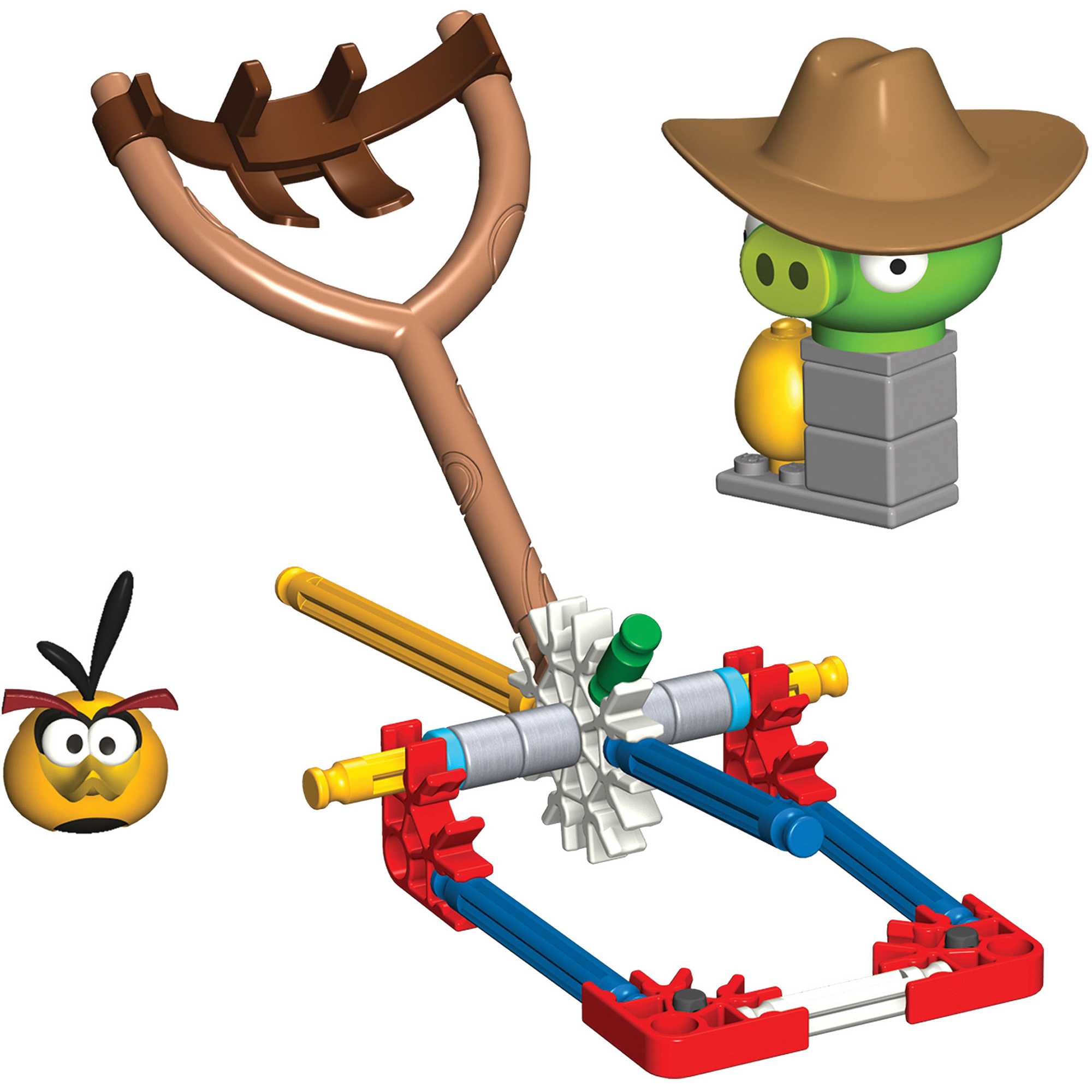 K'NEX Angry Birds Bubbles vs. Medium Minion Pig