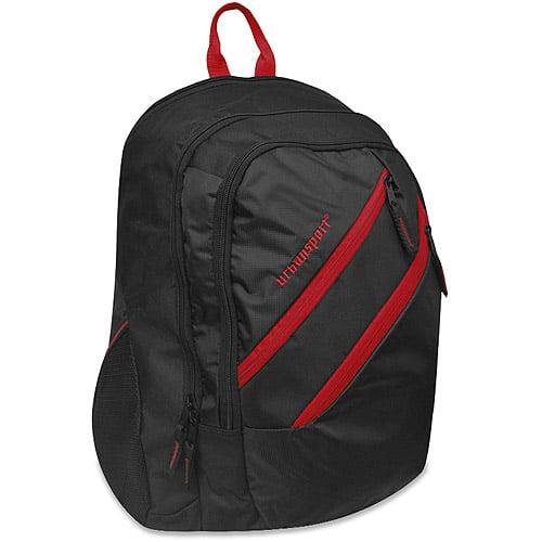 """Urban Sport Double Zipper 17"""" Backpack I"""